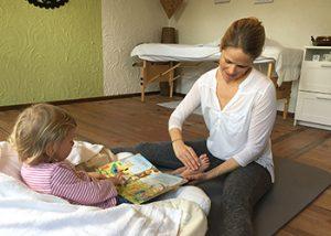 Fussreflexzonenmassage für Kinder
