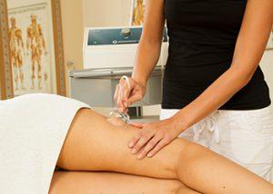 Pneumatron - Oberschenkel-Behandlung